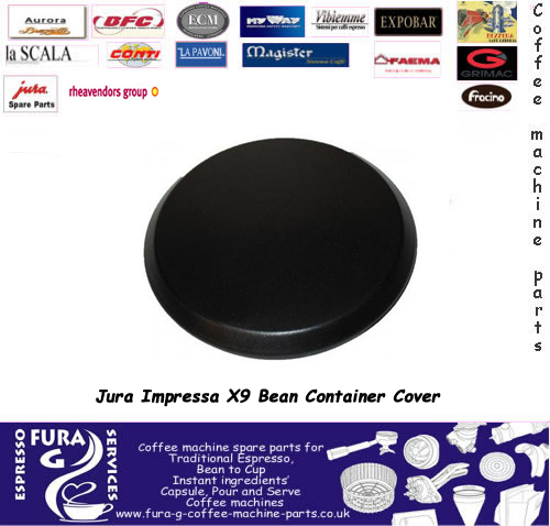 Jura X7 and  X9 Bean Hopper Lid