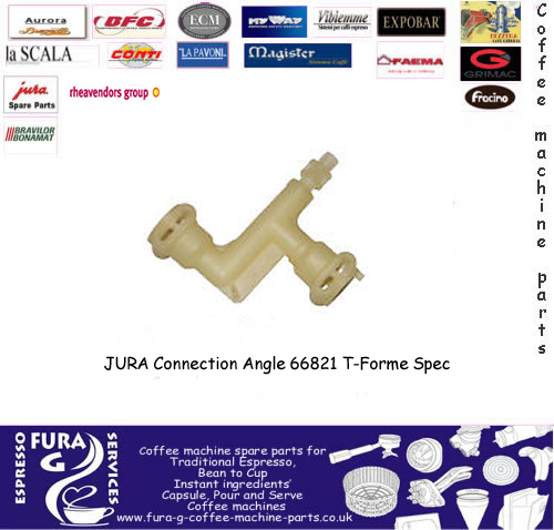 Jura pipe connector T-forme spec