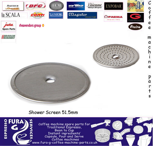 Coffee Machine GROUP HEAD SHOWER PLATE  SCREEN 52MM