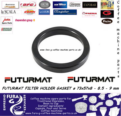 FUTURMAT GROUP SEAL  Ø 73 x 57 x 8.mm 8.5mm and 9mm