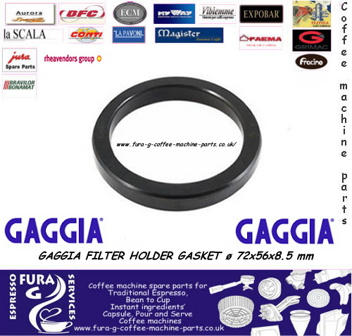 Gaggia Filter Holder Gasket ø 72x56x8.5 mm