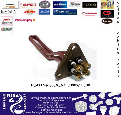 HEATING ELEMENT 3000W 230V - Fura G Coffee Machine Parts