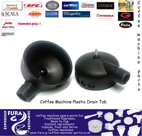 Fracino drain tub waste water collection tub