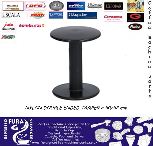 Twin Double Ended Coffee Tamper 48mm/57mm