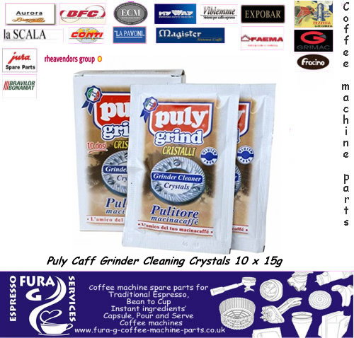 Puly Caff Grinder Cleaning Crystals 10 x 15g
