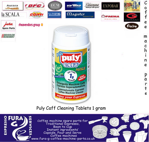 Puly Caff Cleaning Tablets 1 grm 100 Tablets