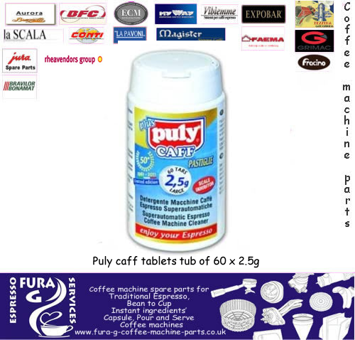 Puly Caff Cleaning Tablets  60 x 2.5g