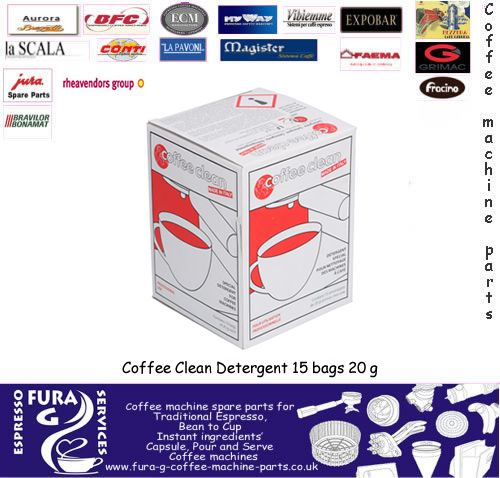 Coffee Clean Detergent 15 bags 20 g in a box