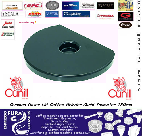 Common Doser Lid Coffee Grinder Cunill.dia 130mm