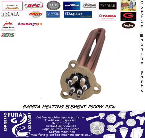GAGGIA HEATING ELEMENT 2500W 230v