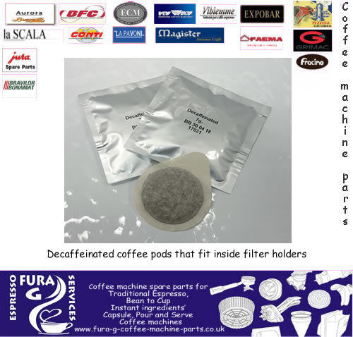 Fura Caffe Decaf coffee pods