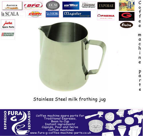 Milk Foaming Jug 0.35 Litre supplied by Barista Coffee Selby