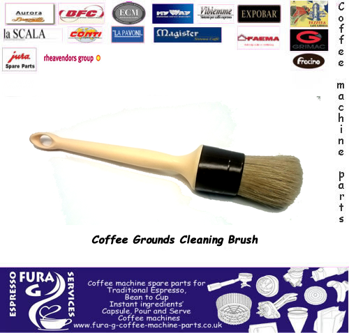 Coffee Grounds Cleaning Brush