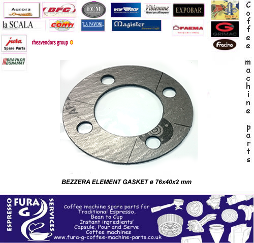 BEZZERA GASKET FOR HEATING ELEMENT Carbo
