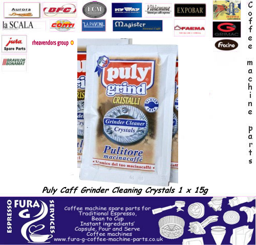 Puly Caff Grinder Cleaning Crystals 1 x 15g