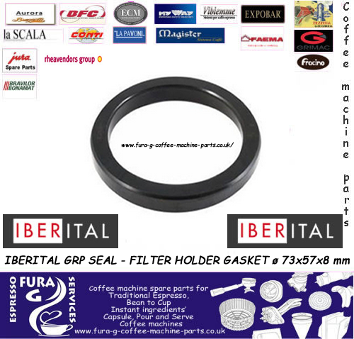 IBERITAL FILTER HOLDER GASKET ø 73x57x8 mm