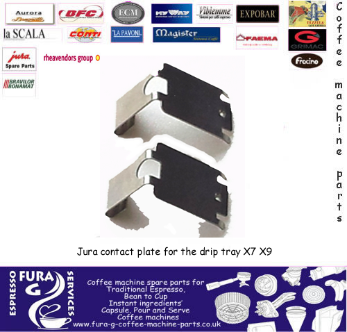 Jura contact plate for the drip tray  X7 X9