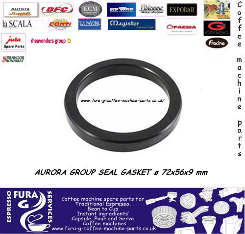 AURORA GROUP SEAL GASKET ø 72x56x9 mm