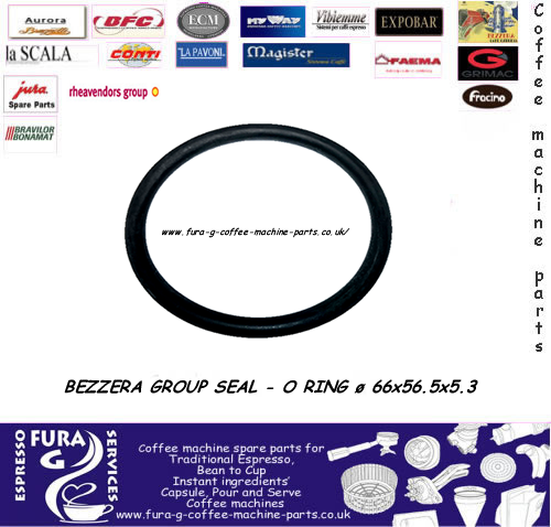 BEZZERA GROUP SEAL - O RING ø 66x56.5x5.3