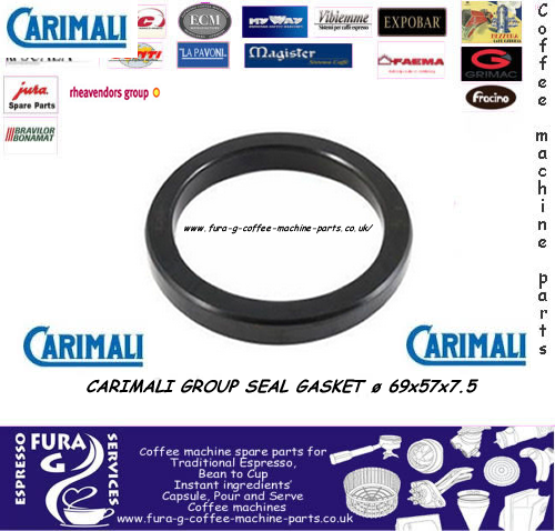 CARIMALI GROUP SEAL GASKET ø 69x57x7.5