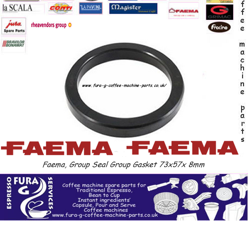 Faema, Group Seal Group Gasket 73x57x 8mm
