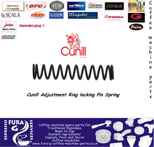Cunill Adjustment Ring locking Pin Spring