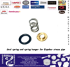 Steam pipe seal spring and spring hanger for Expobar coffee machines