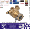 Fluid-o-Tech Rotoflow PA204 Brass Water Pump Head