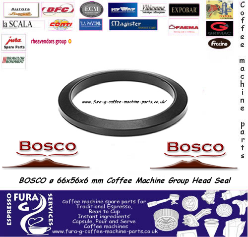 Bosco lever group gasket Sorrento ø 66x56x6 mm