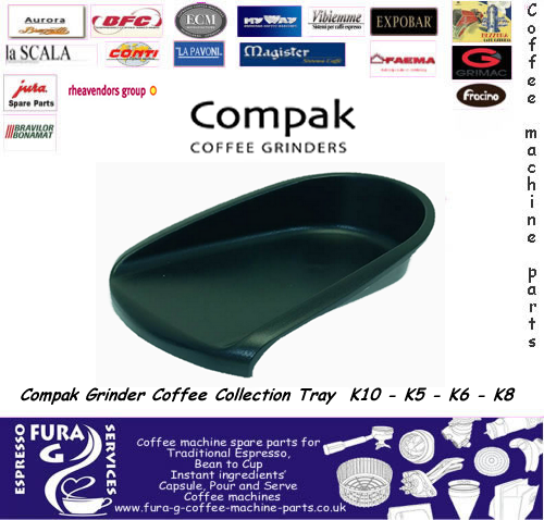 Compak Grinder Coffee Collection Tray