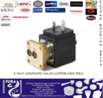 Parker / Lucifer 3 Way Solenoid Valve for Coffee Machines