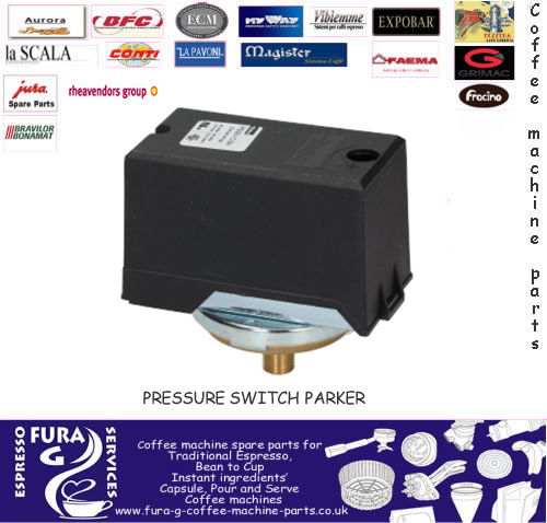 Parker Pressure Switch 3-Poles Espresso Machine