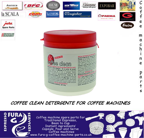 COFFEE CLEAN  DETERGENTE FOR COFFEE MACHINES