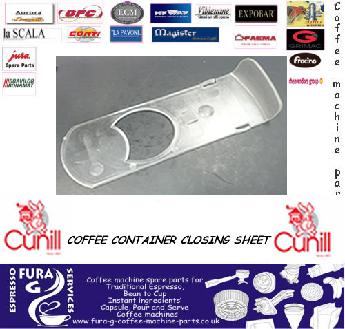 CUNILL COFFEE CONTAINER CLOSING SHEET