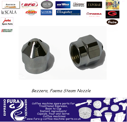 Bezzera, Faema Steam Outlet Nozzle