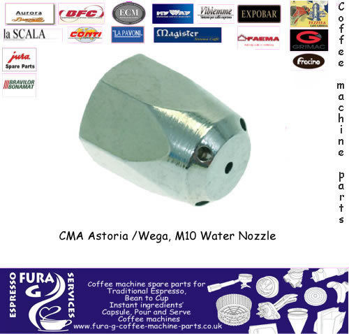 CMA Astoria, M10 Steam Nozzle