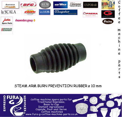 STEAM ARM BURN PREVENTION RUBBER ø 10 mm
