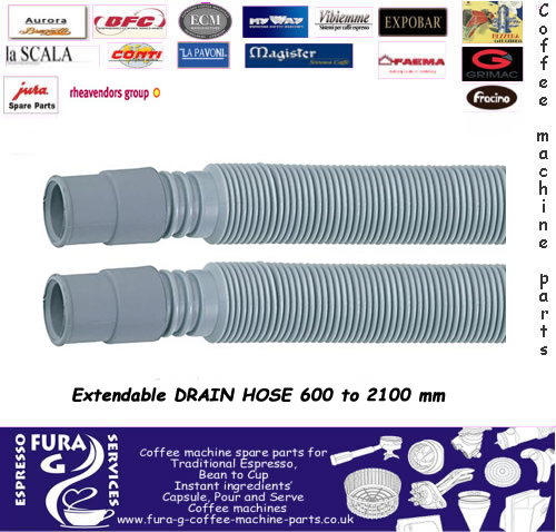 Universal Extendable Drain Hose 600mm to 2100 mm