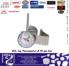 Milk Frothing Thermometer  Ø 25 mm Dial