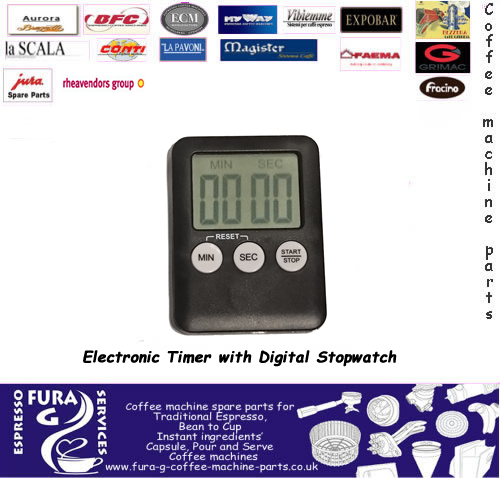 Electronic Timer with Digital Stopwatch