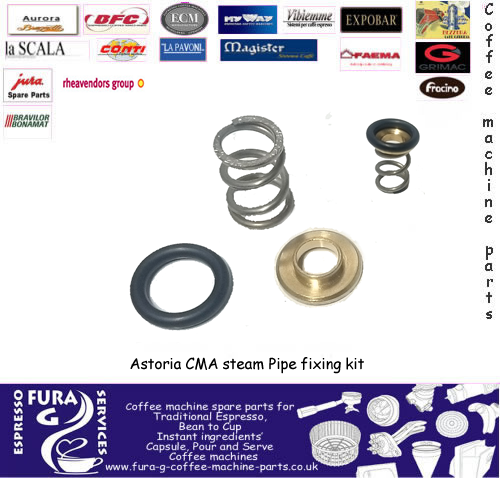 Astoria CMA steam Pipe fixing kit