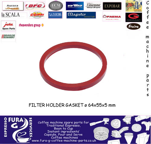 ELEKTRA GRP SEAL - red silicone