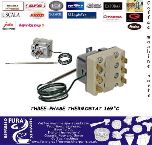 THREE PHASE THERMOSTAT 169°C