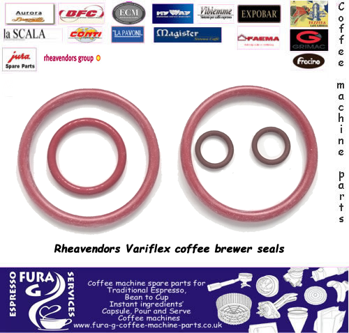 Variflex coffee brewer seals