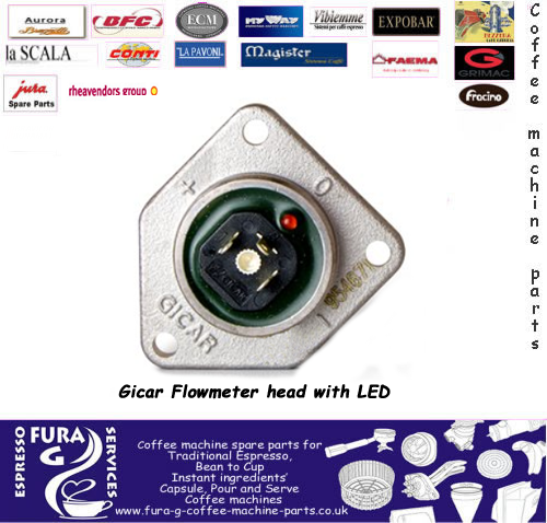 Gicar Flowmeter Cover Head with LED