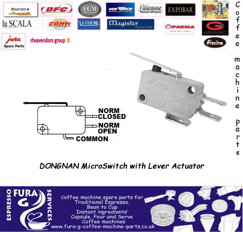 MicroSwitch with Lever Actuator