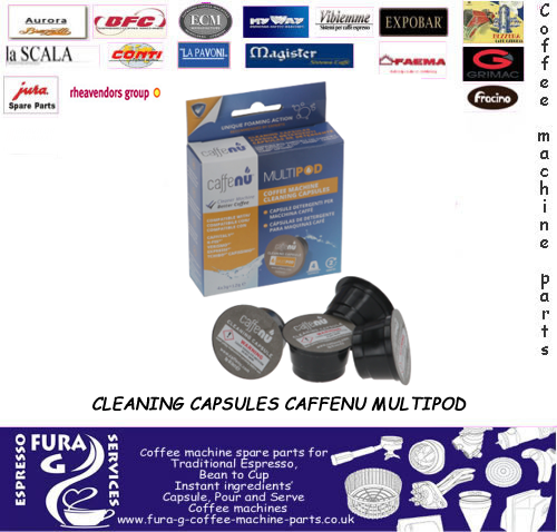 CLEANING CAPSULES CAFFENU MULTIPOD
